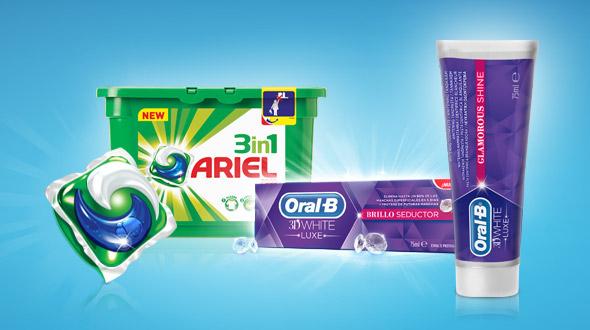 Ariel y Oral-B nos ayudan a cuidar nuestra imagen