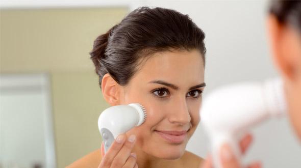 Cepillo de limpieza facial de Braun